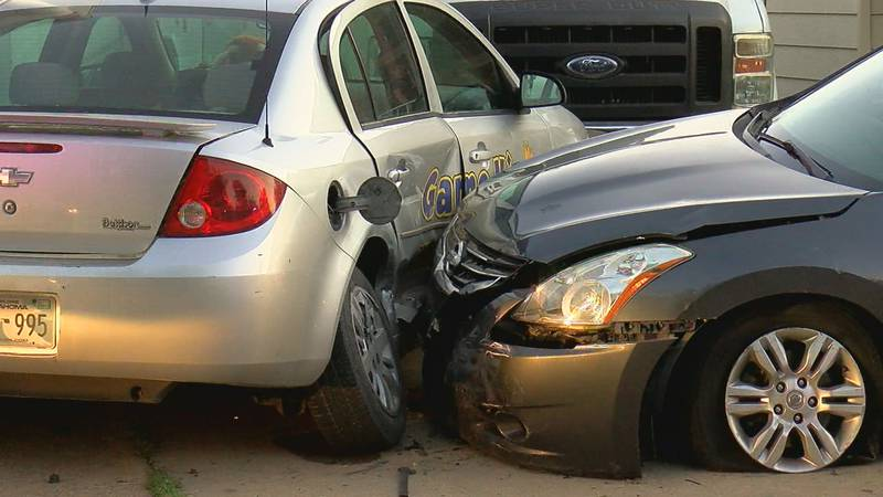 Two people were involved in a crash in the 1700 block of NW Baldwin Ave in Lawton early...