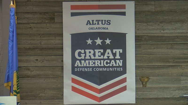 Altus has been named as one of the five Great American Defense Communities.