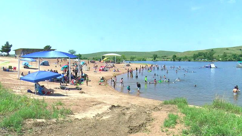 Lake Elmer Thomas Recreation Area will be opening their beach for the summer season Friday.