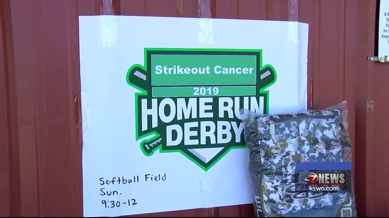 The baseball fields in Elgin have been busy this weekend for the Strikeout Cancer Tournament...