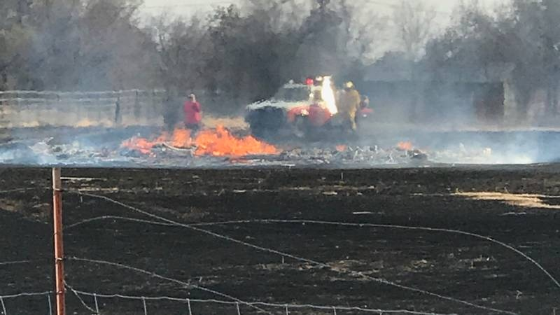 Shortly before 3:30 p.m. Saturday, firefighters were called to a grass fire in the 6700 block...