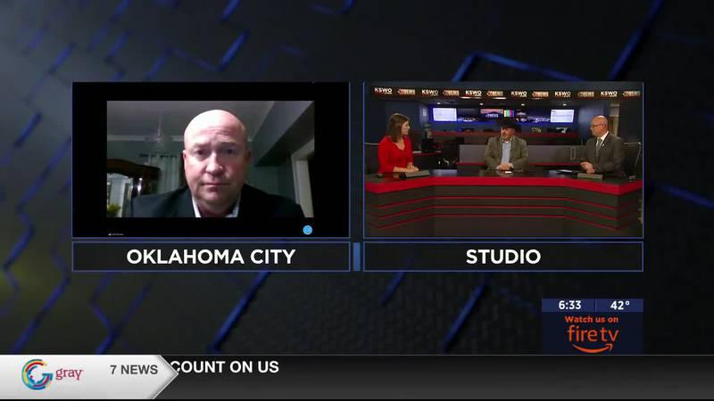 Former Oklahoma House representatives Don Armes and Joe Dorman talk to 7News about the...