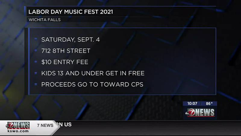 Block party will take place in Wichita Falls to support Child Protective Services.