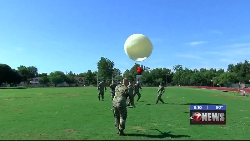 The Fort Sill Air Defense Artillery Brigade came off Post on Friday for an attempt to make...