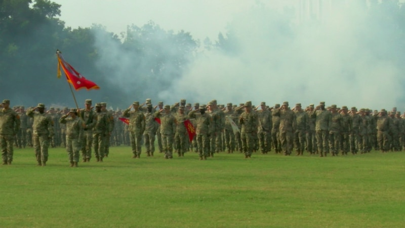 """Fort Sill holds Change of Command ceremony for """"Diamond Brigade."""""""