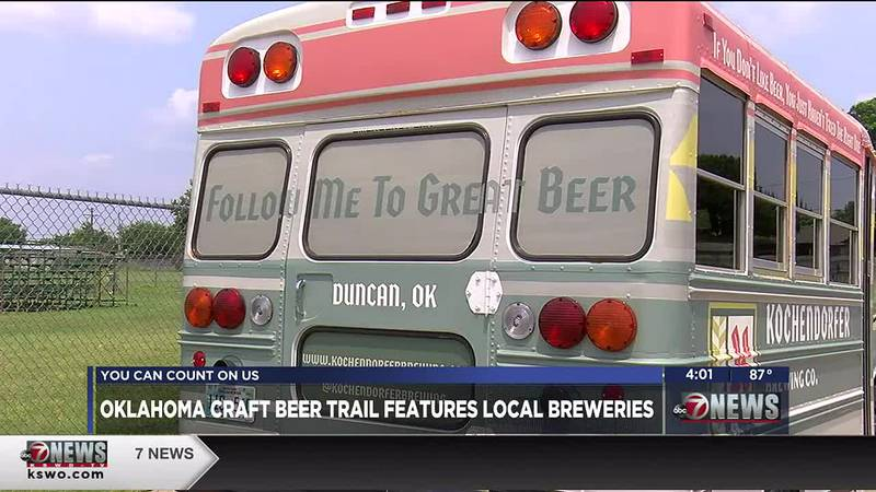Three local breweries are joining the Oklahoma Craft Beer Trail.