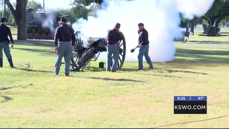 History was brought to life Saturday at the Field Artillery Museum on Fort Sill.