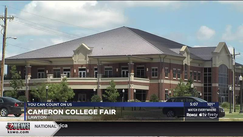 Cameron University will host college fairs in Lawton and Duncan.