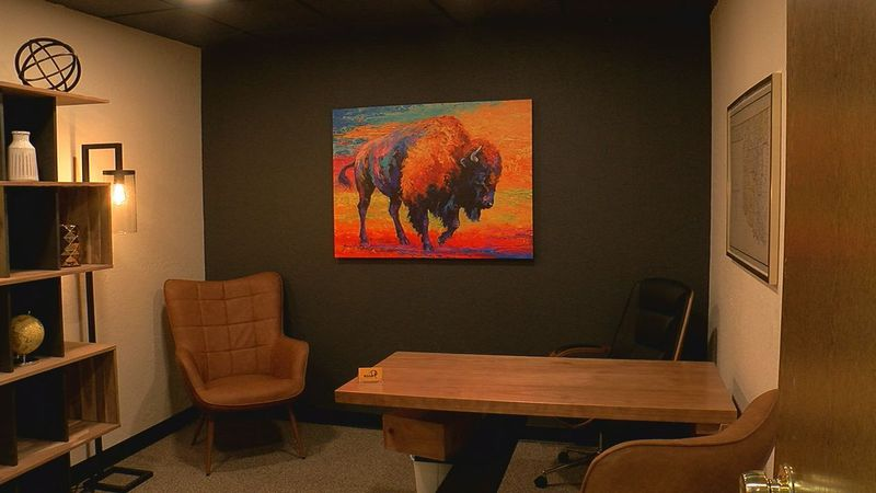 A new business offering office space to rent for a single day opened in Lawton Friday.