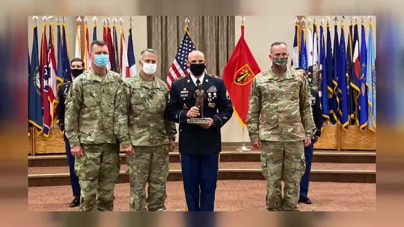 Four Fort Sill drill sergeants have been competing this week for the title of the 2020 Fires...