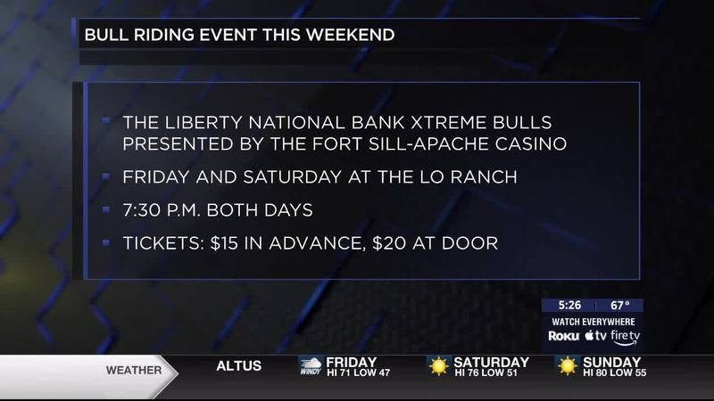 Dusty Tuckness talks to 7News about the details of the PRCA Xtreme Bull Riding event taking...