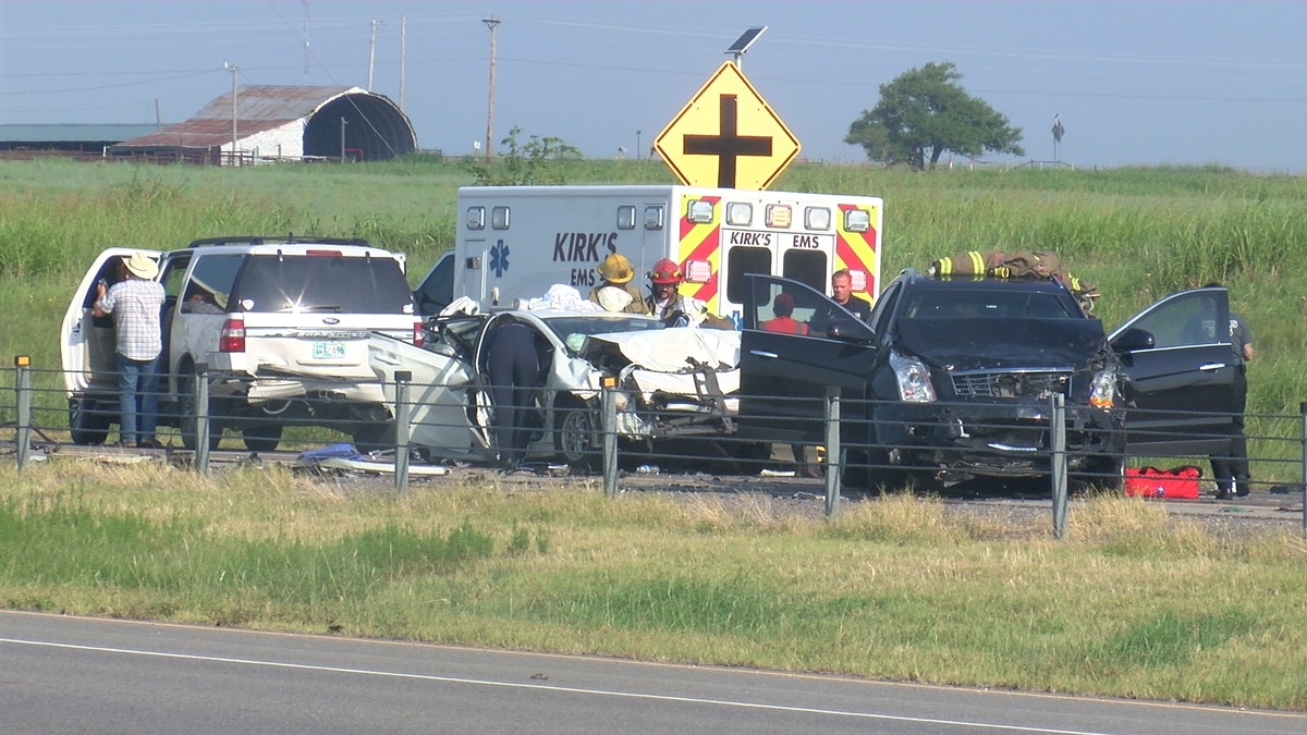 Police release more information about a three-car crash on Highway 7 which sent two people to...