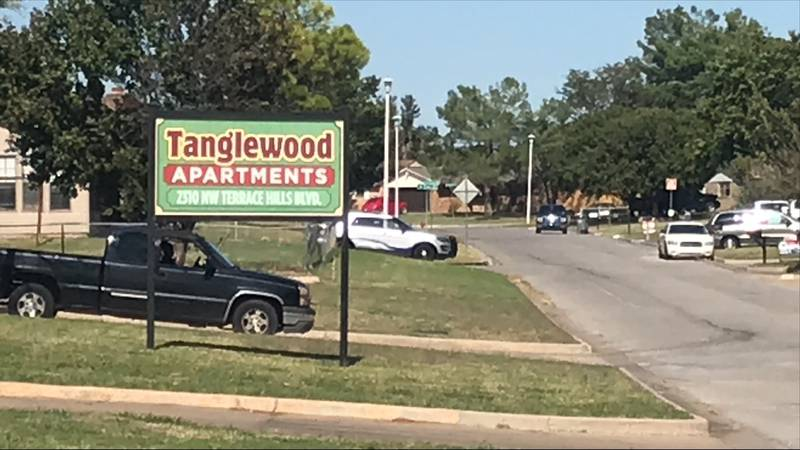 Lawton Police were looking for a suspect in the Terrace Hills neighborhood of Lawton Monday.
