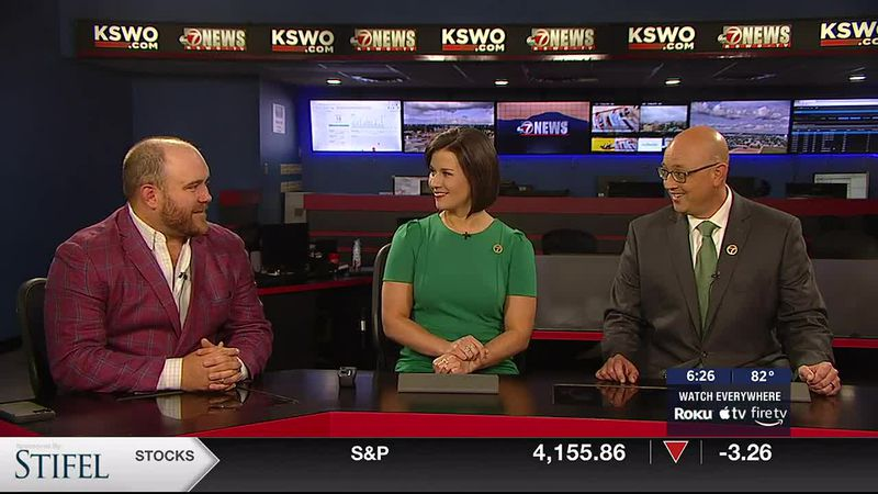 Representative Trey Caldwell joins 7News to discuss the latest happening at the Capitol,...