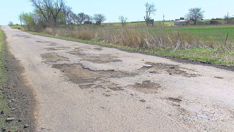 Roads across Comanche County are still full of potholes following this year's winter weather...