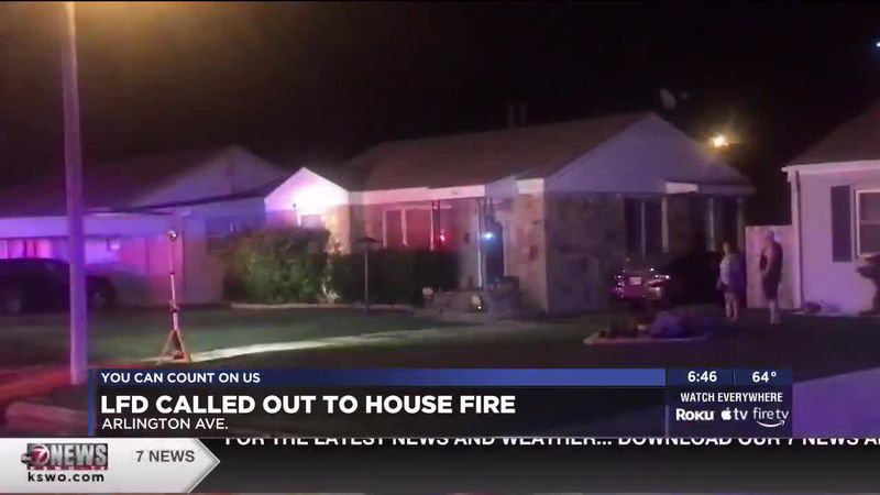 Lawton fire crews were called out to the fire around 1:30 A.M.