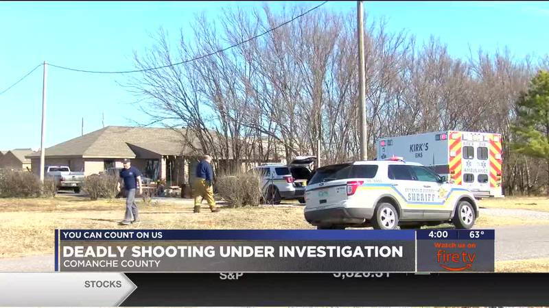 The Comanche County Sheriff's Department is investigating a fatal shooting which happened in...
