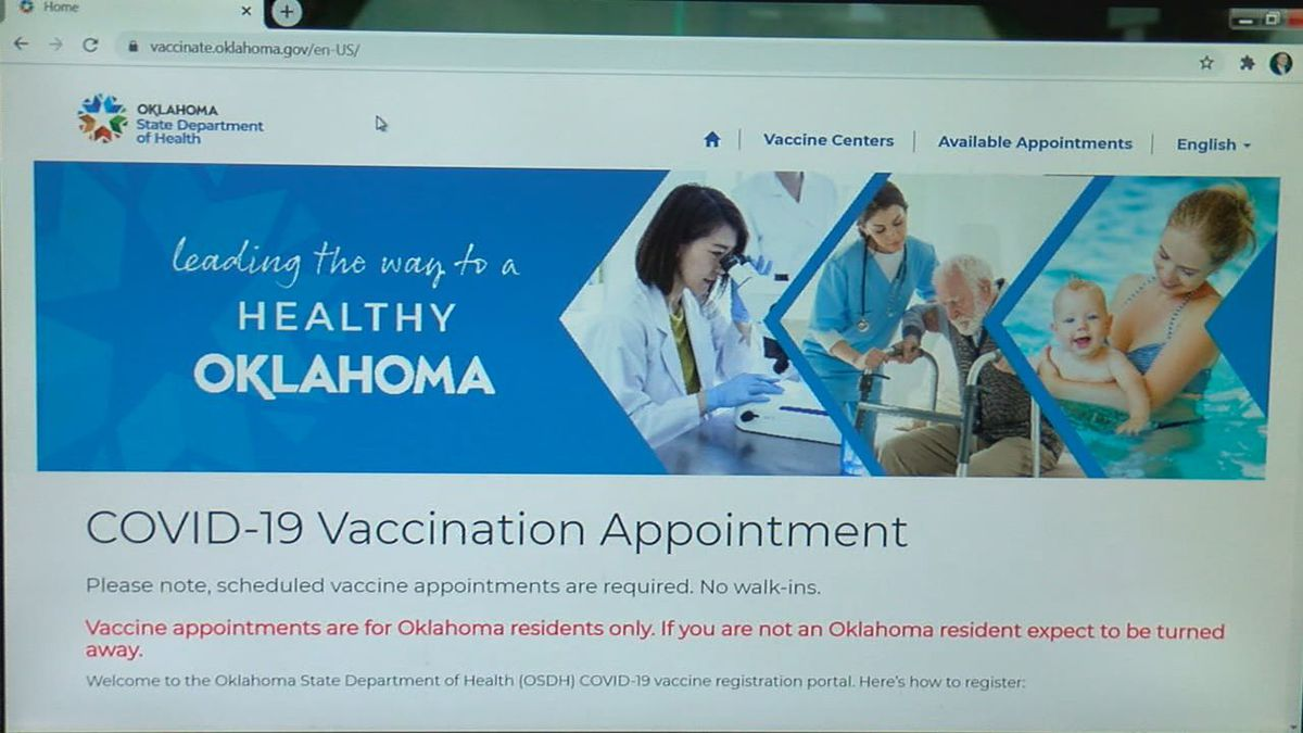 We're now a week into phase three of the vaccination process and in southwest Oklahoma, health...
