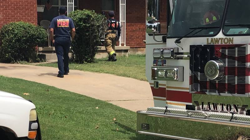 A pair of fires are under investigation that broke out just outside a house on NW Cherry Tuesday.