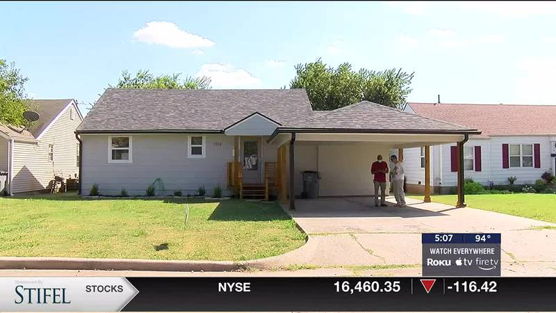 The City of Lawton renovates a home to help the community.