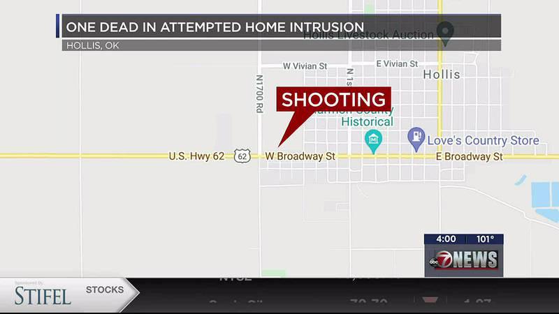 Man dies in Hollis home intrusion.