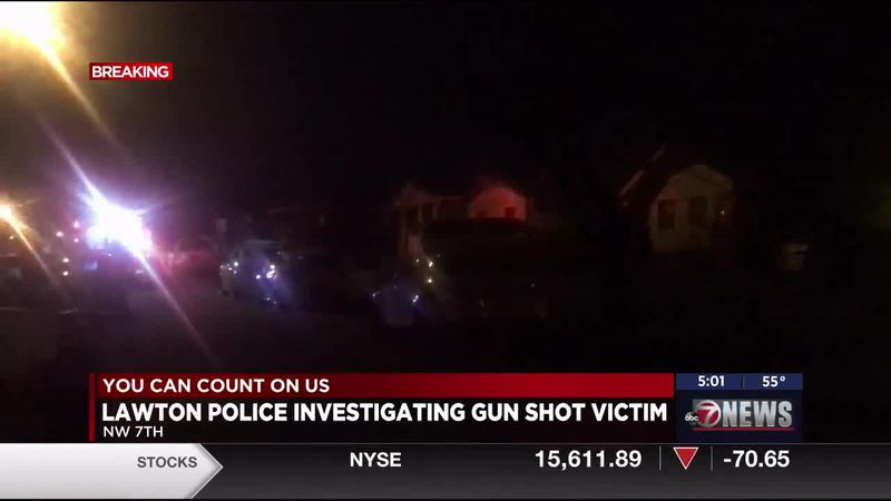 The Lawton Police Department is investigating an incident that ended with a person having a gun...