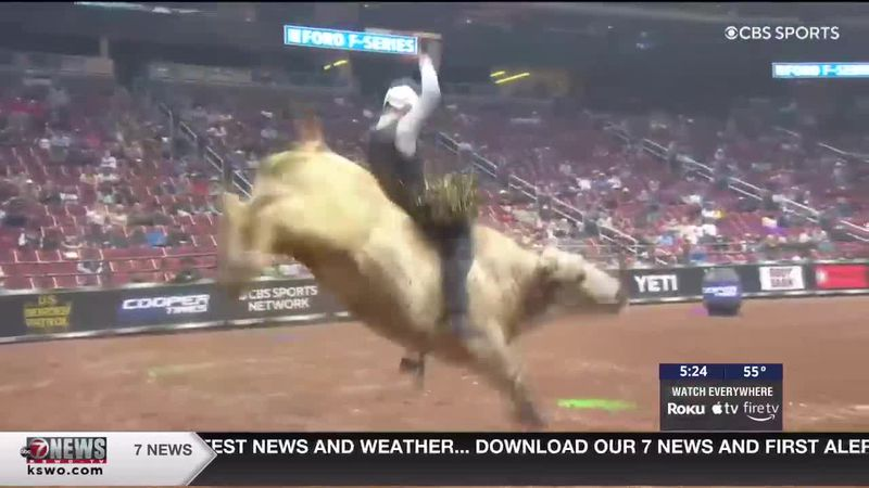 Professional Bull Rider Kyler Oliver discusses the elite Unleash The Beast event with 7News