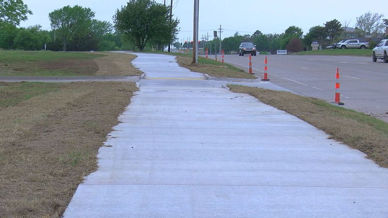 A walking trail in Duncan is nearing completion, with officials hoping to have it finished in...