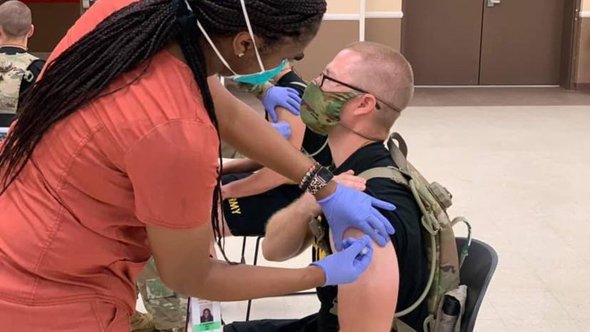 The Reynolds Army Health Clinic's COVID Vaccine Clinic has given out more than 30,000 doses of...