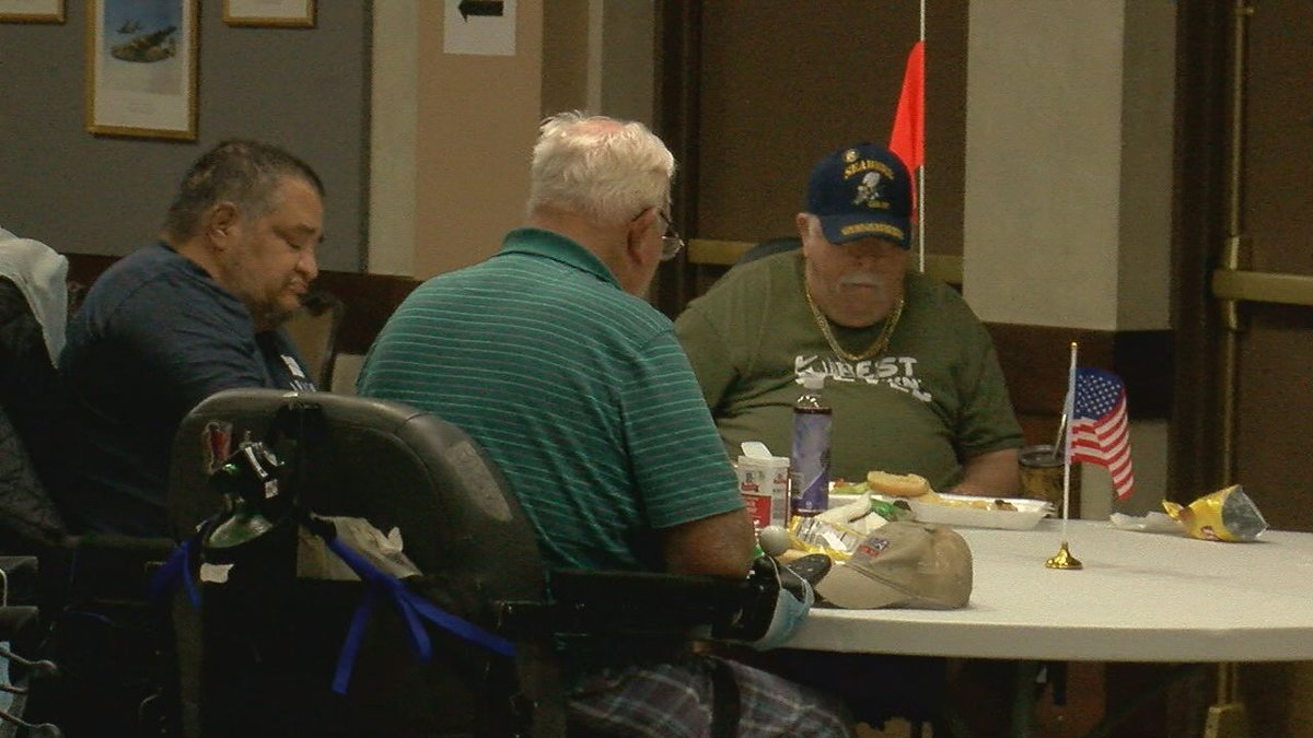 Veterans at the Lawton Fort Sill Veterans Center got a special visit from members of the...