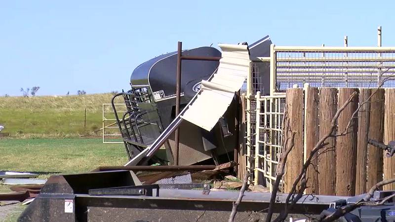 Several storms including ones that had tornadoes came through southwest Oklahoma this week.  A...