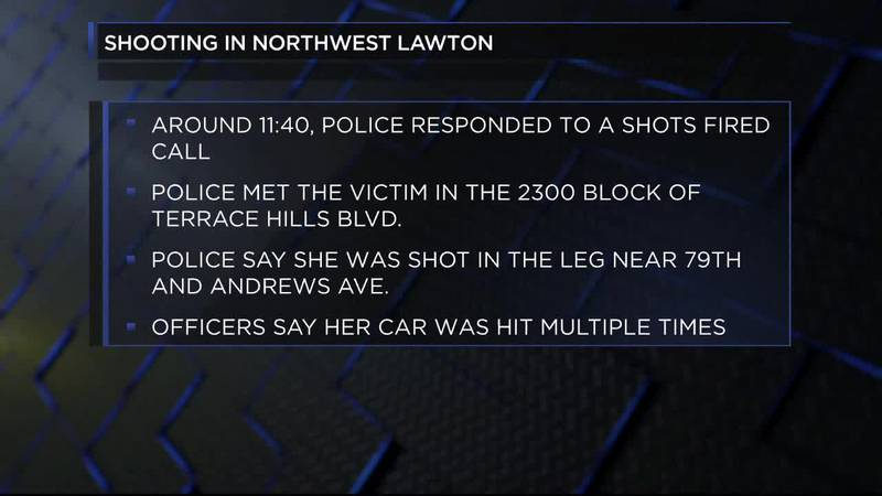 Police are investigating a shooting that happened in Northwest Lawton.