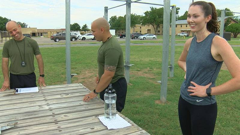 7News reporter, Hunter McEachern, can officially say she passed the Army Combat Fitness Test.