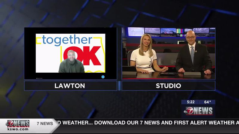 Jacobi Crowley joins 7News to discuss Together Oklahoma's upcoming virtual town hall event