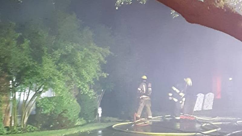 Lawton fire crews were called to a house fire in the 300 block of NW 35th street.