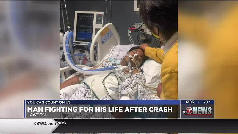 19-year-old Kaiyo Raethong is in the ICU at OU Medical Center after a drunk driver crashed into...