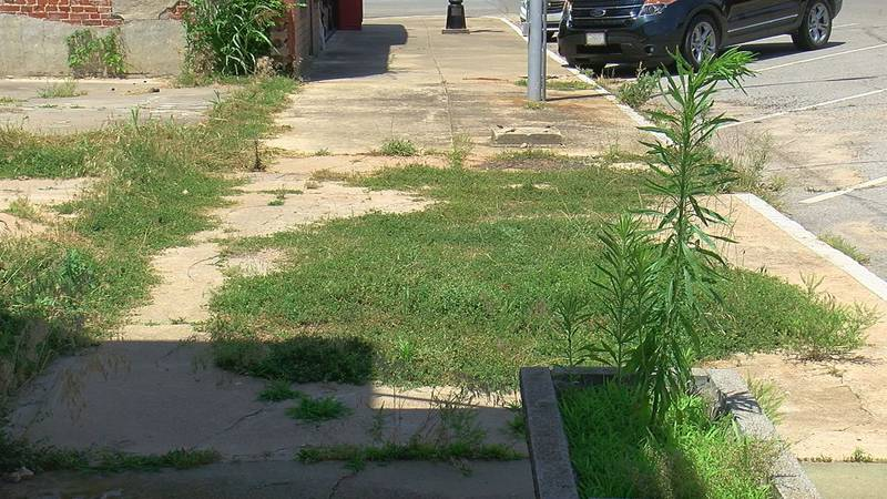A sidewalk project in Downtown Comanche has been postponed.