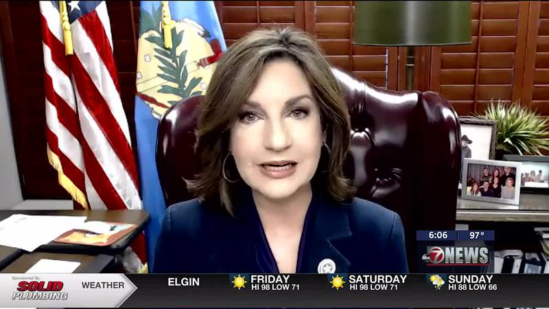 State Superintendent Joy Hofmeister discusses the mask mandate for Oklahoma Schools.