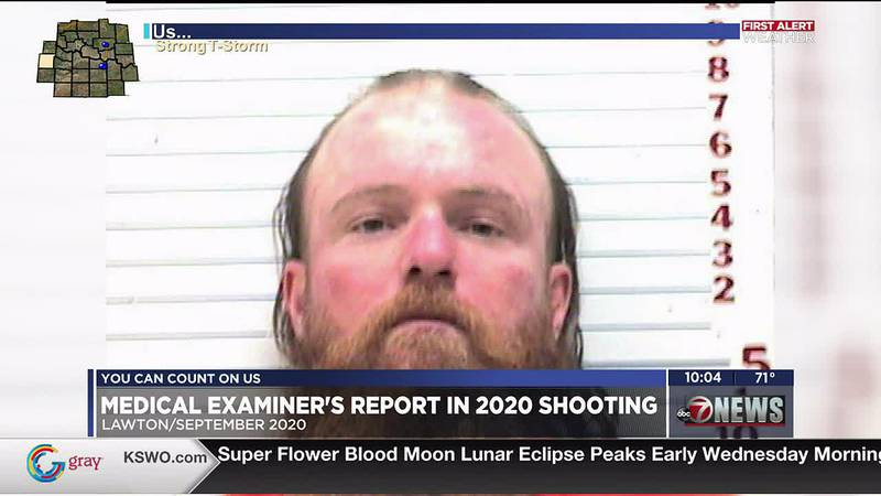 Prosecutors have filed an autopsy report in their case against a Lawton man they say shot and...