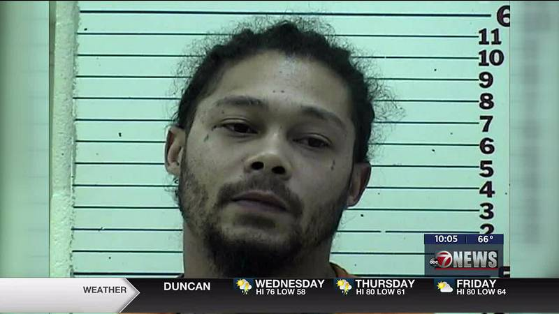 A man is facing charges after being accused of attacking a woman in Lawton.