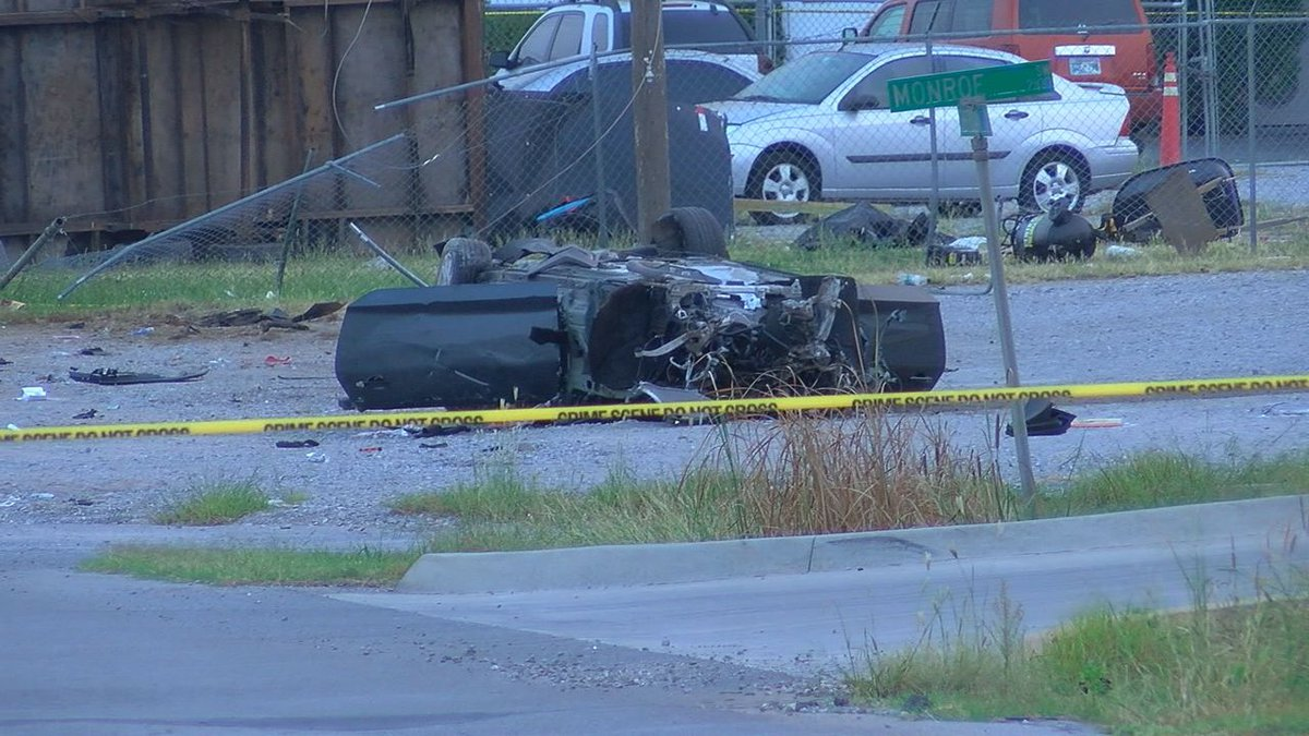 One person was killed in a car crash early Saturday morning.