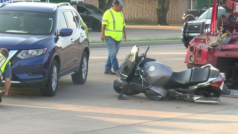 A motorcycle crash occurred this morning on 82nd St.