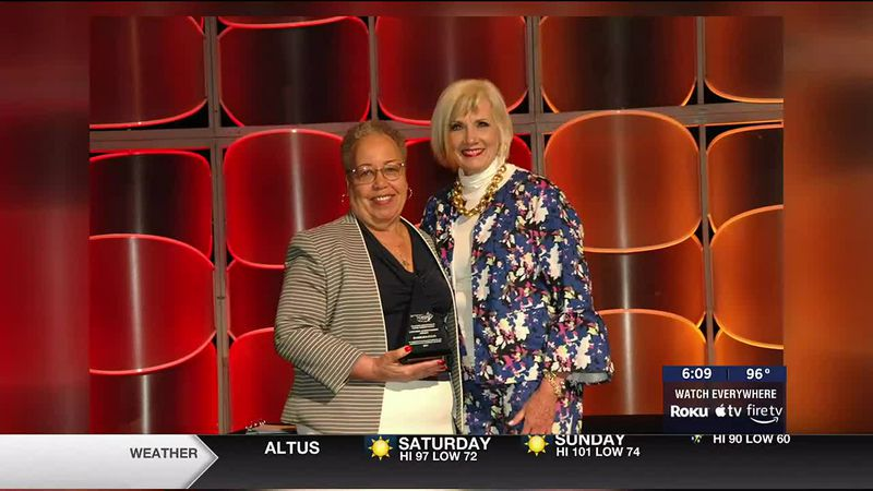 A Former Assistant Superintendent for Lawton Public School is now a Lifetime Achievement Award...