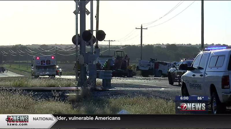One person is airlifted after crash on Highway 277.