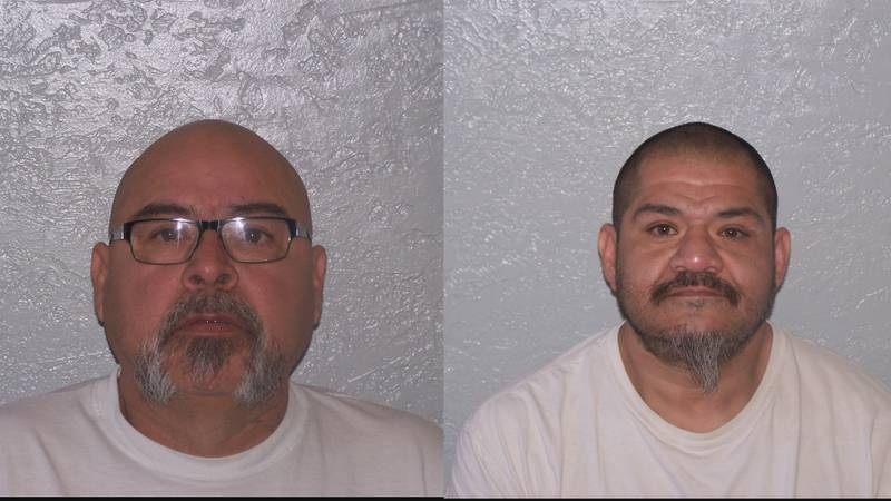 53-year-old Jacob Benevidez and 44-year-old Ruben Benevidez were arrested on charges of...