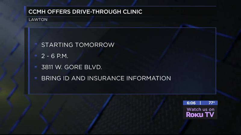 The Comanche County Memorial Hospital is opening an Assessment Drive-Through Clinic.
