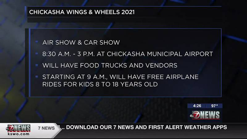 The air and car show is set to take place Saturday.