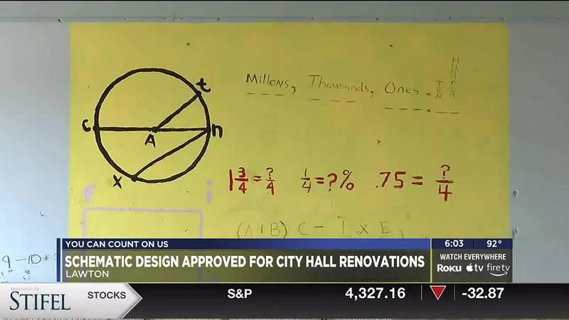 City of Lawton to renovate city hall.