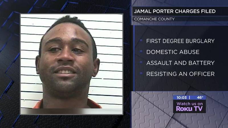 According to court documents, 32-year-old Jamal Porter was arrested after kicking in an...