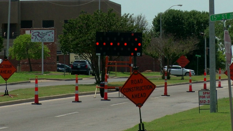 Crews are working to correct water main issues that left the portion of road in an unsafe...